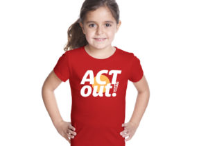 ACT OUT logo