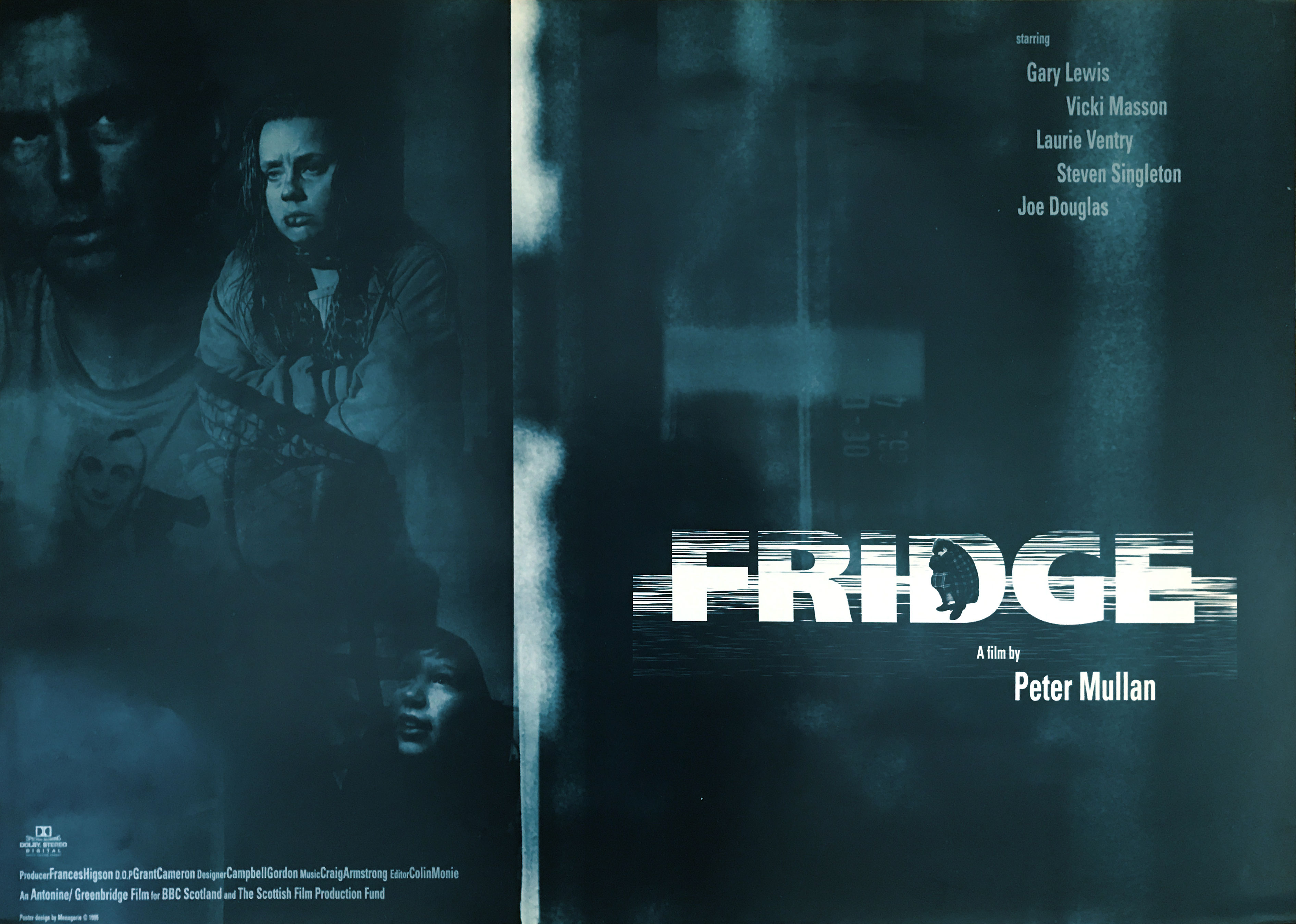 Fridge, a film by Peter Mullan, film poster