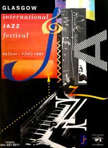 Glasgow International Jazz Festival poster