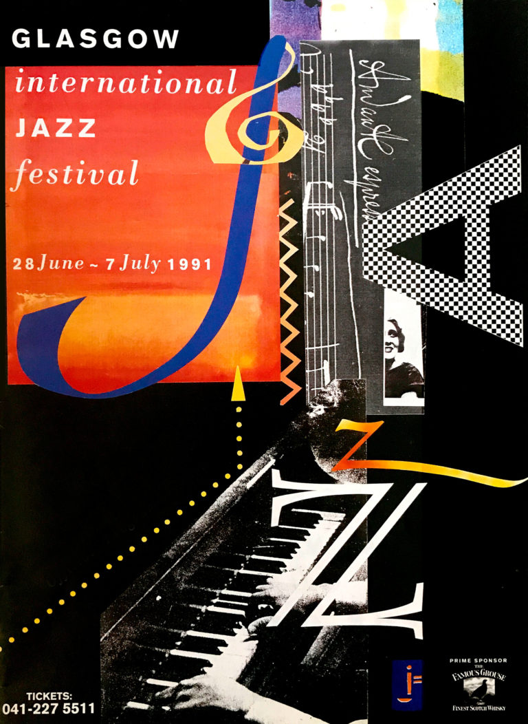 Glasgow International Jazz Festival poster