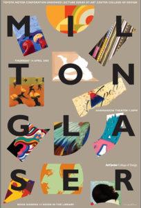 milton glaser exhibition poster