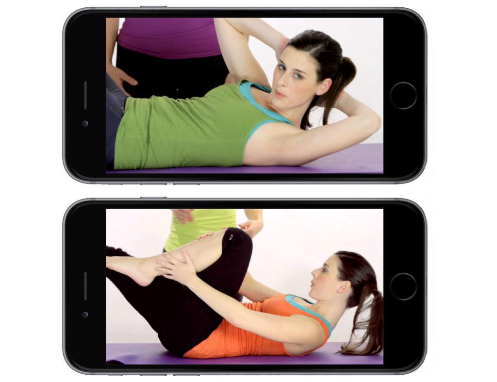 modular core fitness videos