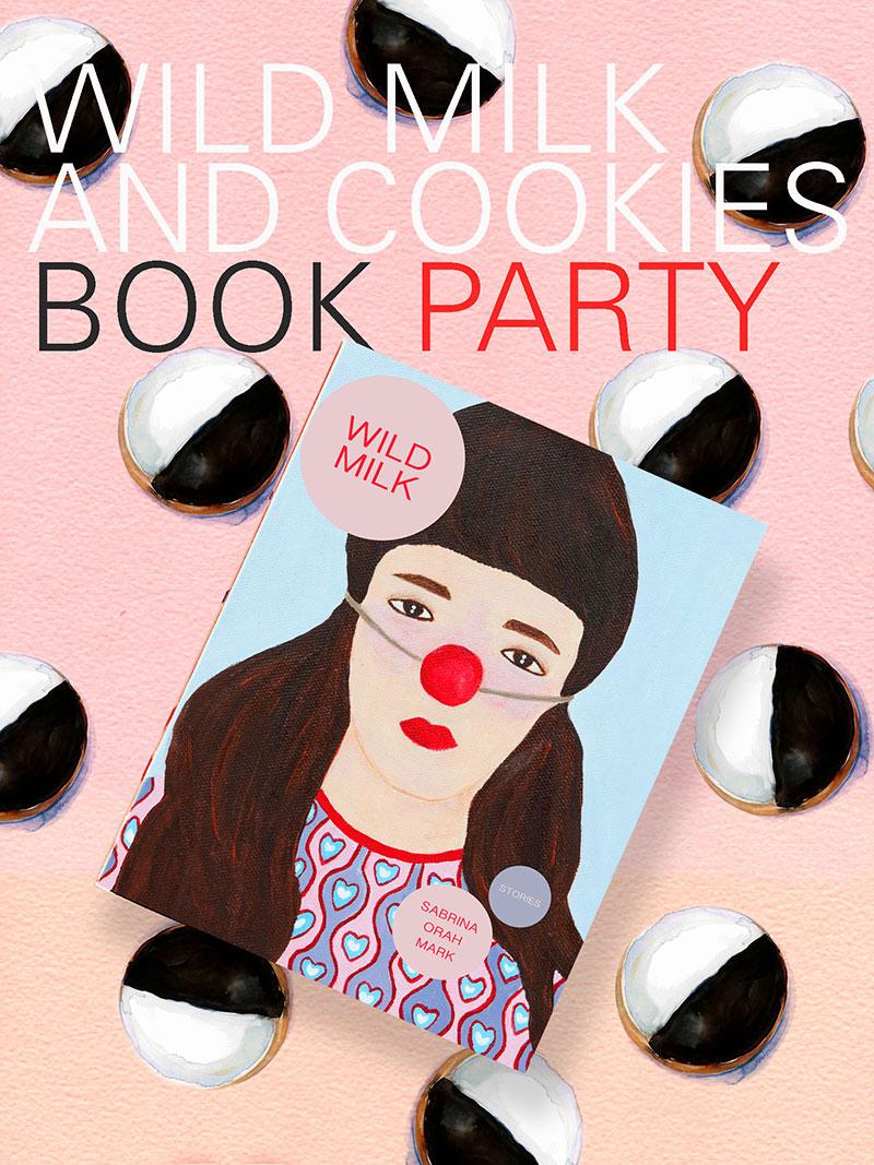 Wild Milk Book Party Poster