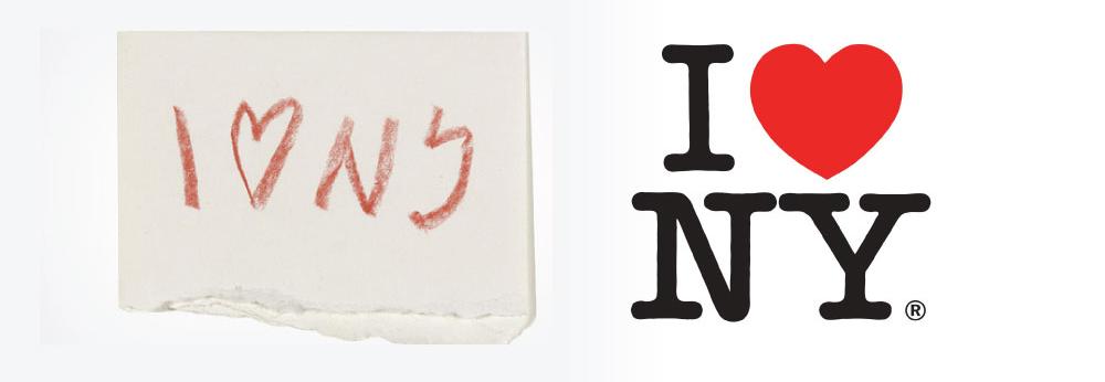 the-i-love-new-york-logo designed by Milton Glaser in 1977
