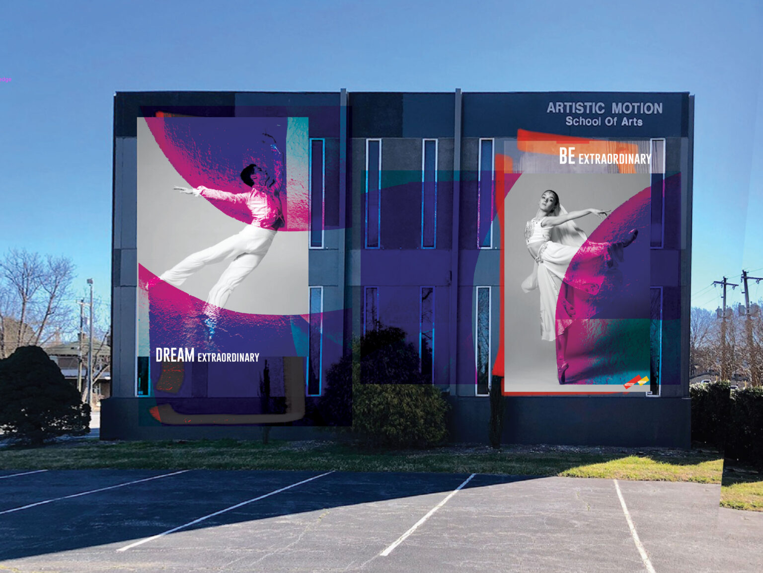 Artistic-Motion-Mural